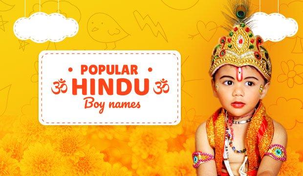 popular hindu boy baby names