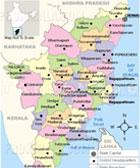 Map of Tamilnadu