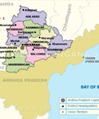 Proposed Telangana State